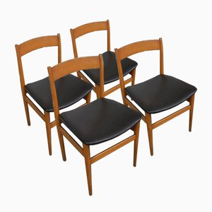 Dining Chairs from Passoni Udine Italia, 1960s, Set of 4