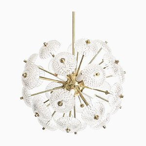 Sputnik Chandelier from Kamenicky Senov, 1970s