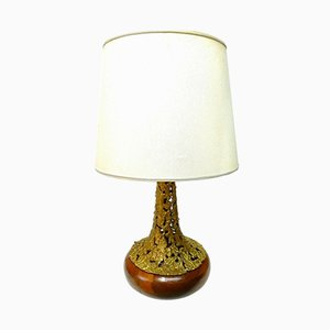 Bronze Table Lamp by Angelo Brotto for Esperia, 1970s