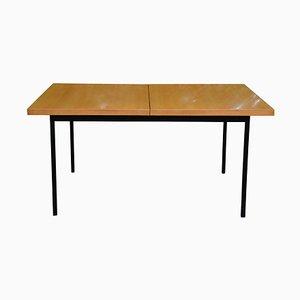 Table de Salle à Manger Mid-Century Extensible en Placage de Bouleau No. 413 par Fred Ruf pour Knoll Inc. / Knoll International