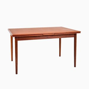 Mid-Century Danish Modern Teak Extending Dining Table from AM Mobler