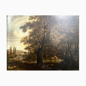 Barbizon School Painting, Sinning Children and The Rest of the Poacher