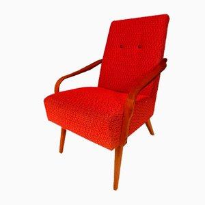 Cocktail Chair by Jindřich Halabala for Halabala , 1950s