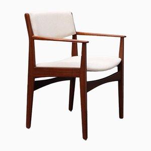 Chaise de Bureau Mid-Century par Poul Volther pour Frem Røjle
