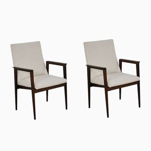 Mid-Century Armchairs from Thonet, Set of 2