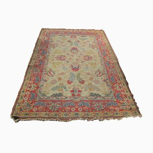 Antique Hand-Knotted Carpet