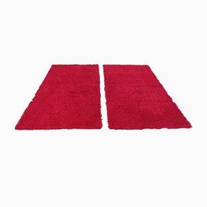 Hochflorige Teppiche von Desso, 1970er, 2er Set