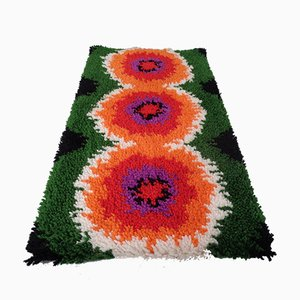 Vintage High-Pile Wool Tapestry, 1970s