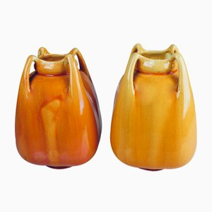 Antique Youth Vases by Alf Wallander for Rörstrand, Set of 2
