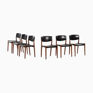 Dining Chairs by Aksel Bender Madsen, 1952, Set of 6