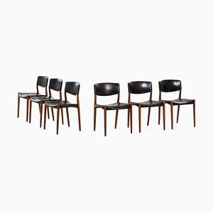 Esszimmerstühle von Aksel Bender Madsen, 1952, 6er Set