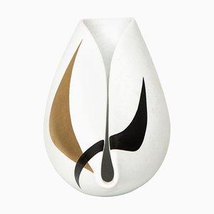 Vaso modello Unfold di Stig Lindberg per Gustavsberg, Svezia