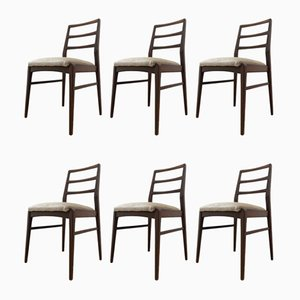 Vintage Teak Dining Chairs by Richard Hornby, Set of 6