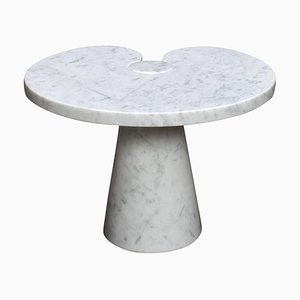 Italian Marble Eros Side Table by Angelo Mangiarotti for Skipper, 1970s