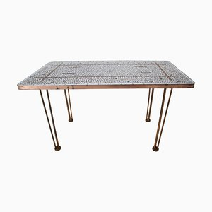 Mid-Century German Mosaic Conference Table, 1960s