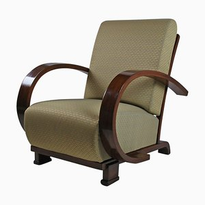 Art Deco Armchair by Jindrich Halabala, 1930s