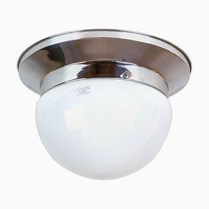 Vintage Chrome Ceiling Lamp