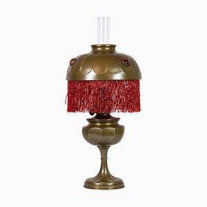 Art Nouveau Kerosene Lamp, 1860s