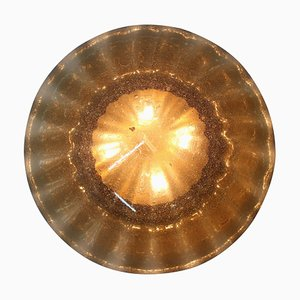 Large Mid-Century Ceiling or Wall Lamp, 1970s