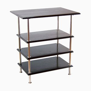 Functionalism Chromed Shelf, 1920s