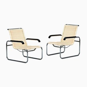 Vintage Cantilever S35 R Lounge Chair by Marcel Breuer for Thonet