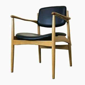 Danish Oak Dining Chair from Hersteller, 1960s