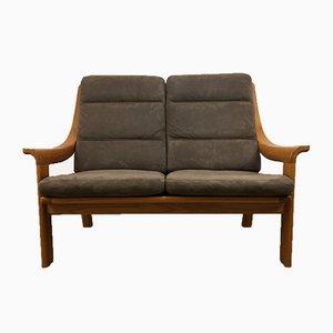 Mid-Century Danish Teak 2-Seater Sofa from Poul Jeppesens Møbelfabrik