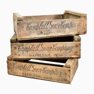 Vintage Campbells Soup Crate, 1960s