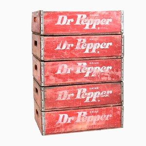 Vintage Dr Pepper Crate, 1960s