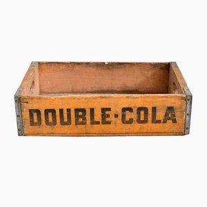 Vintage Double Cola Crate, 1960s