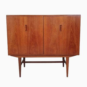 Mid-Century Danish Drinks Media Cabinet Sideboard Retro by Alfred Cox