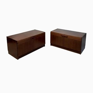 Mid-Century Rosewood Sideboards, Set of 2
