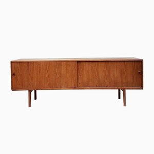 Mid-Century Long Danish Sideboard