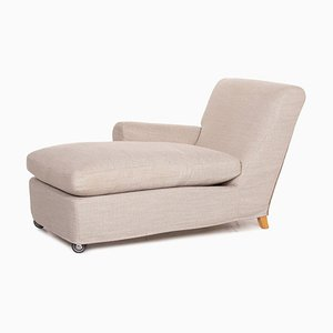 Beige Gray Chaise Lounge from Flexform