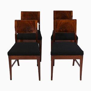 Englische Esszimmerstühle, 4er Set