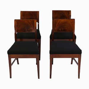 English Dining Chairs, Set of 4