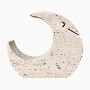 Italian Travertine Sculpture by Fratelli Mannelli, 1970s