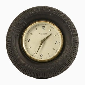 Mid-Century Table Clock from Pirelli