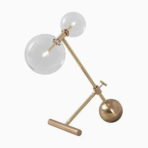 Brass Table Lamp by Schwung