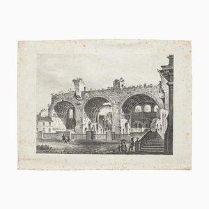The Lands of Rome - Original Lithografie - 20. Jahrhundert 20. Jahrhundert