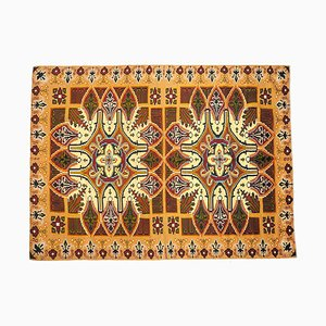 Brown Wool Soft Rug or Wall Tapestry, 2000s