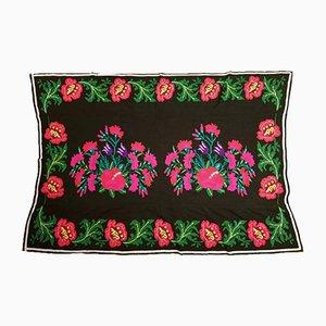 Vintage Handmade Floral Cover