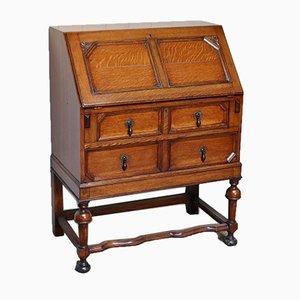 Solid Golden Oak Bureau, 1920s