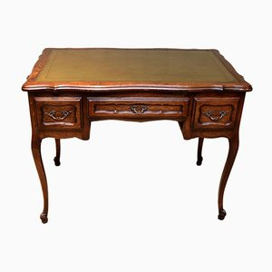 French Oak Writing Desk, 1920s