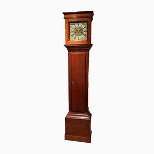 Small Proportioned Solid Oak Longcase Clock