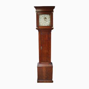 Oak Country Longcase Clock
