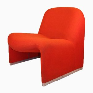 Alky Fireside Lounge Chair by Giancarlo Piretti for Castelli / Anonima Castelli, 1970s