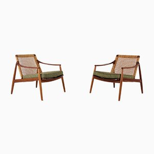 Armchairs by Hartmut Lohmeyer for Wilkhahn, 1950s, Set of 2