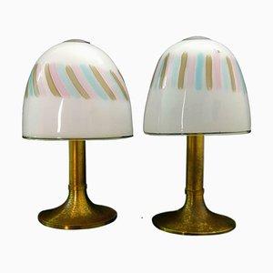 Tischlampen von Angelo Brotto für Esperia, 1970er, 2er Set