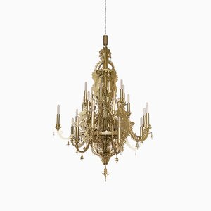 Gina Vision Painted Steel Chandelier by Enzo Scibetta for MYOP